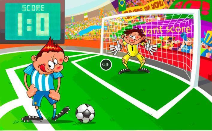 Гифки футбольные